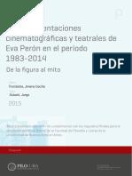Las representaciones cinemat y teatr de Eva Peron entre 1983-2014  Trombetta Dubatti (2015).pdf