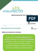 Administración de Contratos - Presentación