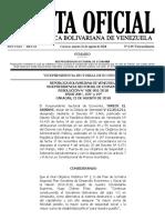 Gaceta Oficial Extraordinaria 6.397 precios