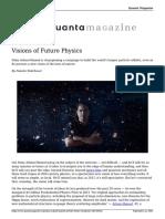 Nima Arkani Hamed and the Future of Physics