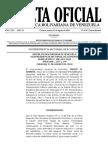Gaceta Oficial Extraordinaria 6.397