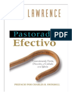 Pastorado Efectivo_Bill Lawrence