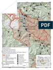 Terwilliger Fire closure map