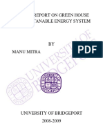01. Project Report on Energy System (Part-I)