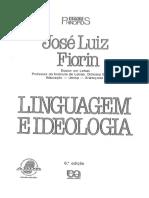 Fiorin j Linguagem e Ideologia Referências Bibliográficas