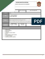 Plan Evaluacion Segundo 2018 2019