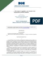 L 29 2006 26 julio Garantías y uso racional de los medicamentos y productos sanitarios.