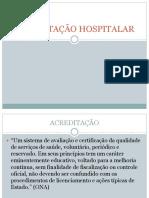Acreditação Hospitalar Cristina