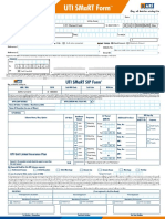 UTI -Systematic Investment Plan (SIP) New Editable Application Form