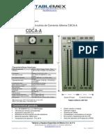 PDF Ficha Tecnica CDCA-A Rev