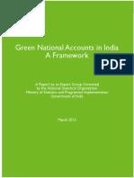 environmental accounting in India