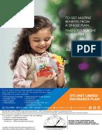 UTI - Unit Linked Insurance Plan (UTI-ULIP) New Editable Aplication Form