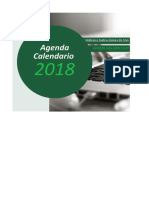 Agenda Calendario 2018 ClasesExcel