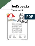 GrebelSpeaks June 2018 Issue