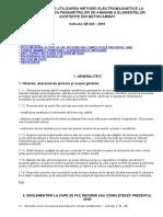 Ghid Privind Utilizarea Metodei Electromagnetice La Determinarea Parametrilor de Armare a Elementelor Existente Din Beton Armat GE040-2001