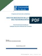 Efectos Biologicos de La Terapia Del Par Biomagnetico