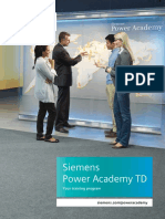 Siemens Power AcademyTD Catalog 2018