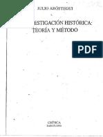 t3_arostegui_la Investigación Histórica