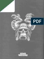 Advanced Heroquest Terror in the Dark Rulebook