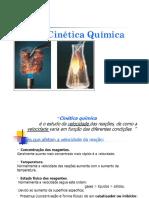 Aula 4 FQ II - Cinetica Química
