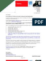 ILM Level 7 Certificate Enrolment September 2009 Revised