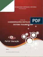 01_Considerações Histológicas Do Sistema Tegumentar