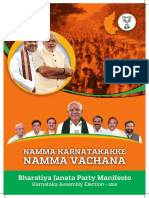 BJP Karnataka Manifesto 2018 English