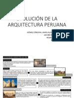 Evolución de La Arquitectura Peruana