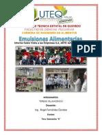 Informe Sobre Visita Alas Empresas ILA