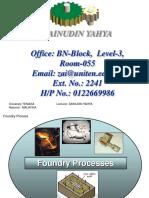 Foundry Process