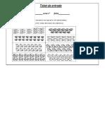 Ticket de Entrada y Salida Matematica Listo 19.8