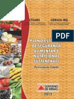 Plano Estadual de Segurança Alimentar e Nutricional Sustentável - MG