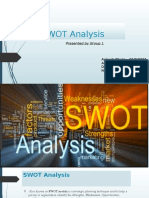 SWOT Analysis- Group 1.pptx