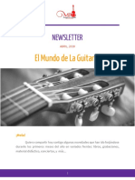 Newsletter 2 Abril 2018