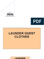 AS12 Launder Guest Clothes