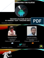 DEFCON 26 Sheila a Berta and Sergio de Los Santos Tracking Android Malware Developers Copia