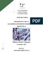 Nefropatia membranosa