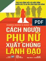 Cach Nguoi Phu Nu Xuat Hung Lanh Dao