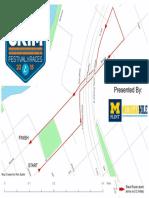 Crim Michigan Mile Map