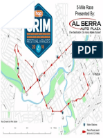 Crim 5 Mile Race map