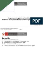 Plan Estrategico Digitalizacion Integracion PEGE PEDI