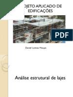 Análise estrutural de lajes