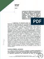 Contrato do Metrô-DF com a empresa Usibank