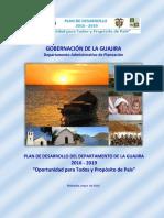 Plan de Desarrollo La Guajira 2016-2019 - Parte 1 de 5