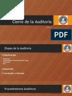 Tema 3 Cierre de La Auditoría