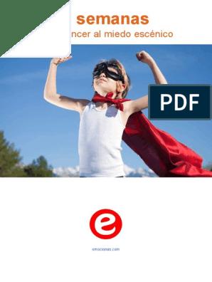 Como superar el panico escenico pdf