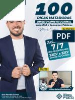 100 Dicas Matadoras - Direito Constitucional.pdf