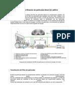 Filtro de particulas diesel sin aditivo
