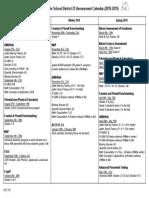 assessment calendar 2018-2019