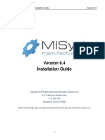 MISys Installation Guide 6-4-2018